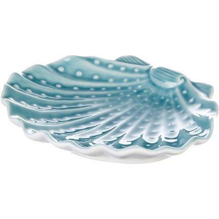 Coastal Home Shell-Shaped Plate