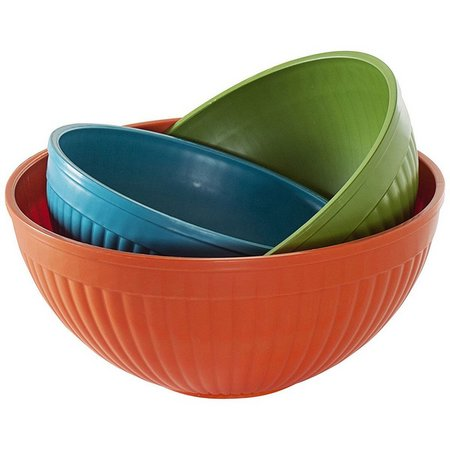 Nordic Ware 3-pc. Prep and Serve Mixing Bowl