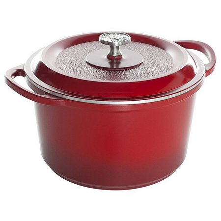 Nordic Ware ProCast Traditions Red Dutch Oven