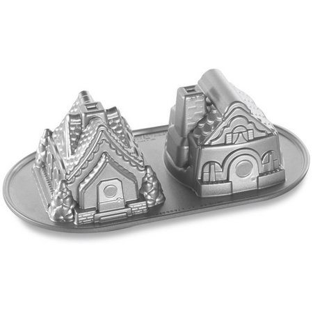 Nordic Ware Duet Gingerbread House Pan