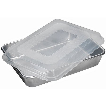 nordic ware rectangular cake pan with lid bealls florida. Black Bedroom Furniture Sets. Home Design Ideas