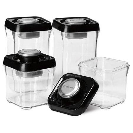 Cuisinart FreshEdge Black 8-pc. Storage Set