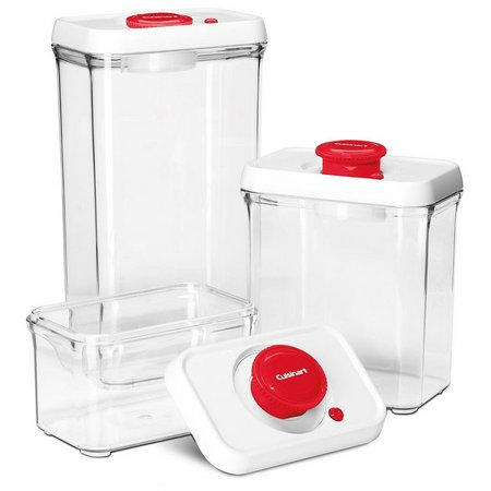 Cuisinart FreshEdge Red 6-pc. Storage Set