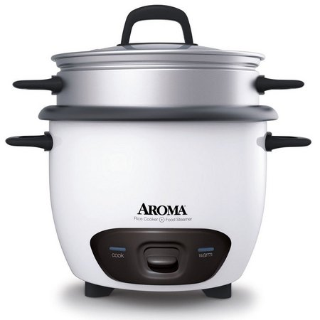 Aroma 14 Cup Rice Cooker & Food Steamer