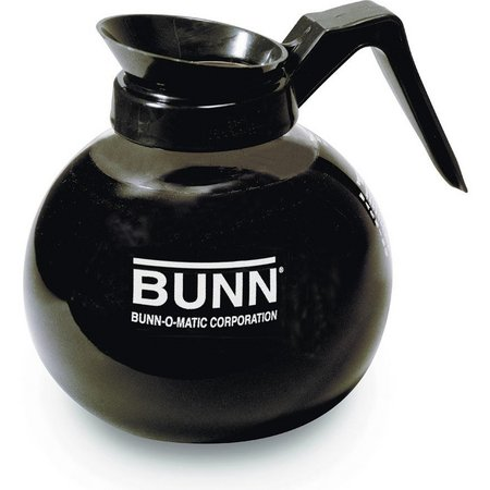 Bunn 42400 12 Cup Black Glass Decanter