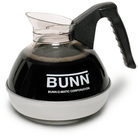 BUNN 12-Cup Easy Pour Commercial Black Decanter