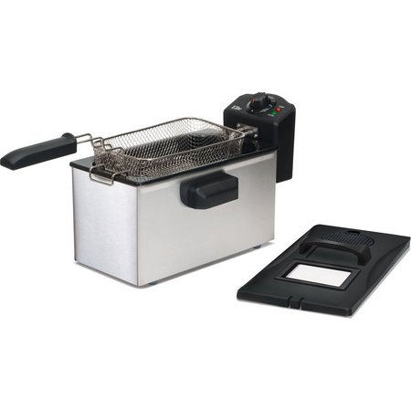 Elite EDF-3507 3.5 qt. Immersion Deep Fryer