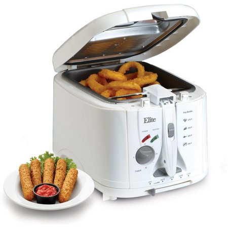 Elite Cuisine 2 qt. Cool Touch Deep Fryer
