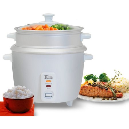 Elite Gourmet ERC-008ST 16 Cup Rice Cooker