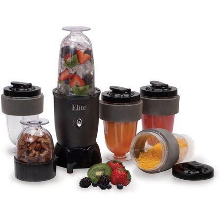 Elite Cuisine EPB-1800 17-pc. Personal Blender
