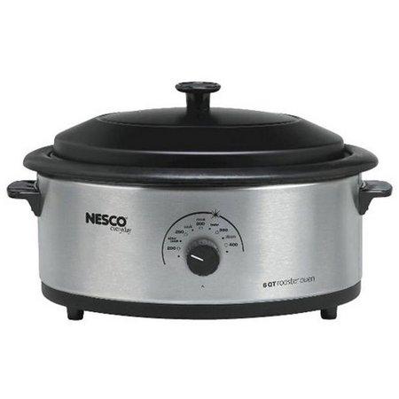 Nesco 4816-25-30 6 qt. Stainless Steel Roaster