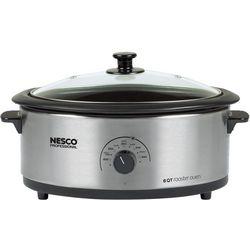 Nesco 4816-25PR 6 qt. Stainless Steel Roaster