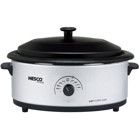 Nesco 4816-47 6 qt. Silver Roaster Oven