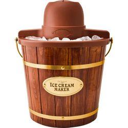 Nostalgia Electric 4 qt. Woodgrain Ice Cream Maker