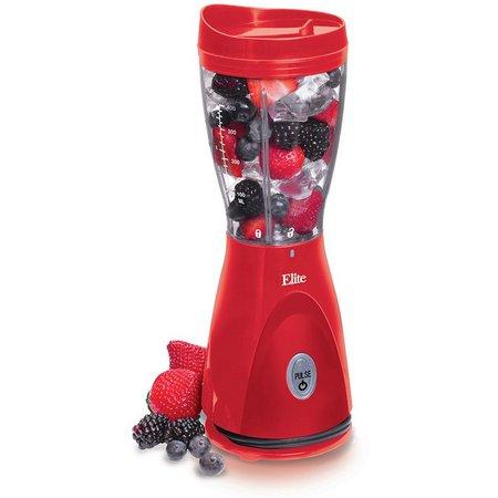 Elite Cuisine EPB-2570R Red Personal Drink Mixer