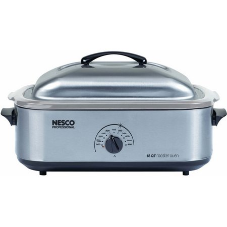 Nesco 18 qt. Stainless Steel Roaster Oven