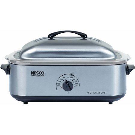 Nesco 18 qt. Stainless Steel Roaster Oven