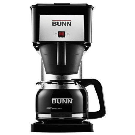 BUNN BXB Velocity Brew 10-Cup Black Coffee Maker