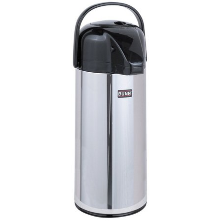 BUNN 2.2 Liter Push-Button Airpot Coffee Dispenser