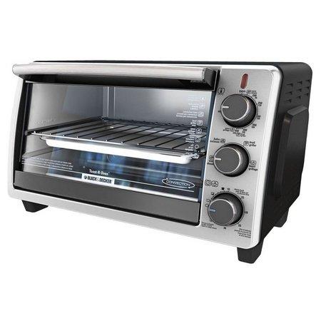 Black & Decker 6 Slice Black Toaster Oven
