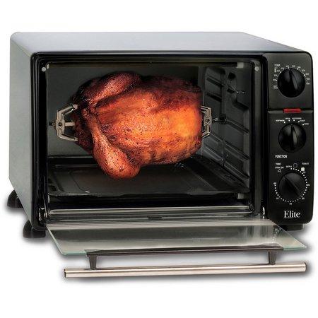 Elite Cuisine ERO-2008N MaxiMatic Toaster Oven