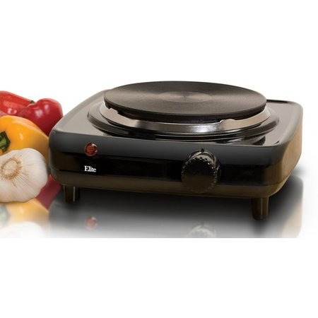 Elite Cuisine ESB-301BF Single Burner Hot Plate