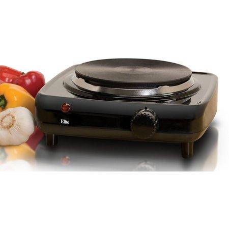 Elite Cuisine ESB-301BF Single Burner Hot Plate