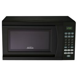 Sunbeam 0.7 Cu. Ft. Black Microwave Oven