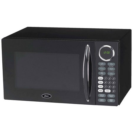 Oster OGB8902B 0.9 Cu. Ft. Black Microwave Oven