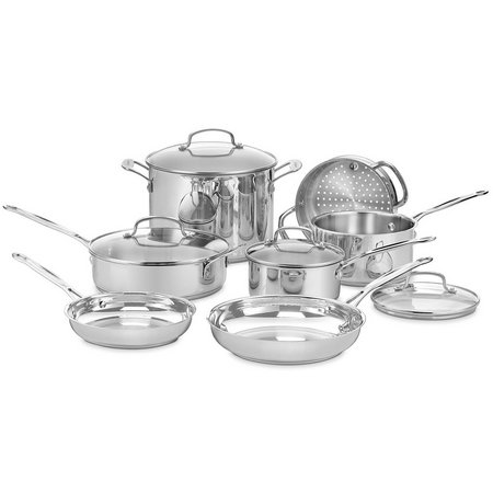 Cuisinart 11-pc. Chefs Classic Stainless Cookware