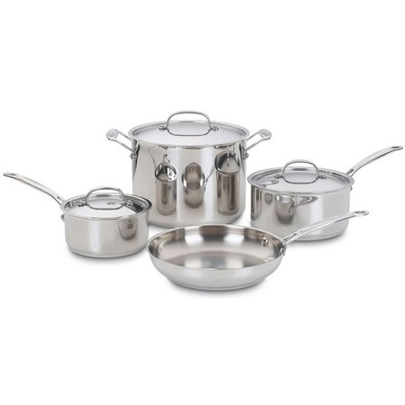 Cuisinart 7-pc. Chefs Classic Stainless Cookware