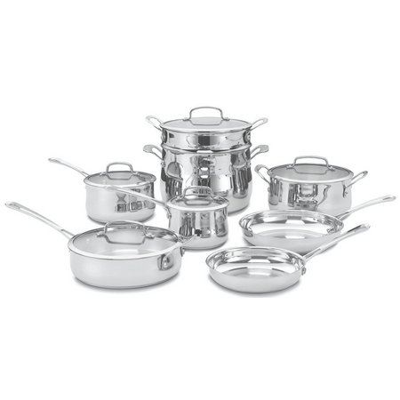 Cuisinart 13-pc.Contour Stainless Cookware Set