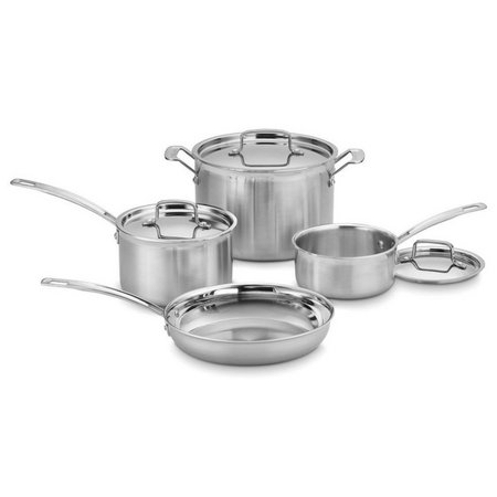 Cuisinart 7-pc. MultiClad Pro Stainless Steel Set