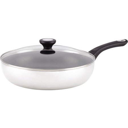 Farberware New Traditions 12'' Covered Skillet
