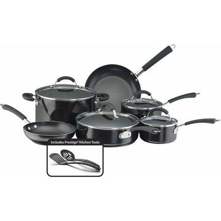 Farberware Millennium 12-pc. Black Cookware Set
