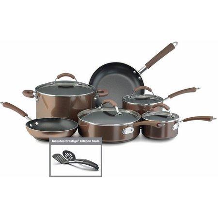 Farberware Millennium 12-pc. Bronze Cookware Set