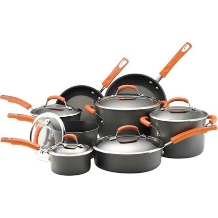 Rachael Ray 14-pc. Hard Anodized Cookware Set