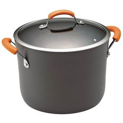 Rachael Ray 10 qt. Hard Anodized Covered Stockpot