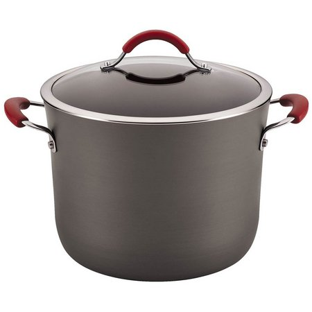 Rachael Ray 10 qt. Nonstick Covered Stockpot