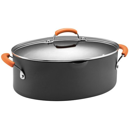 Rachael Ray 8 qt. Hard Anodized Covered Pasta