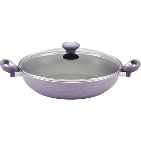 Farberware 12.5'' Side Handle Lavender Skillet