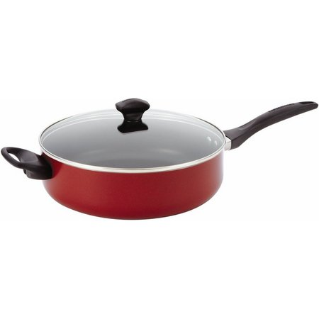 Farberware 5 qt. Red Covered Jumbo Cooker