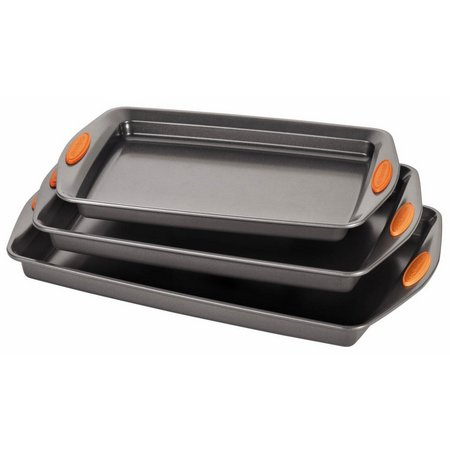 Rachael Ray 3-pc. Oven Lovin' Cookie Pan Set