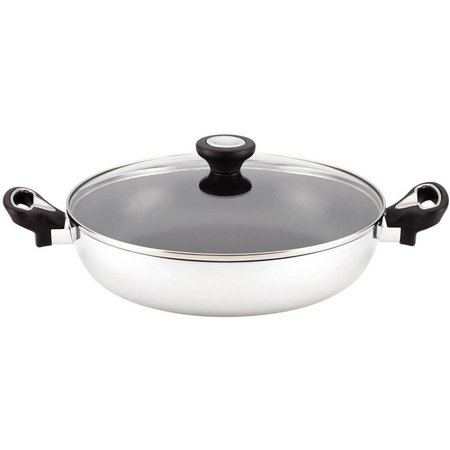 Farberware 11'' Aluminum Covered Everything Pan
