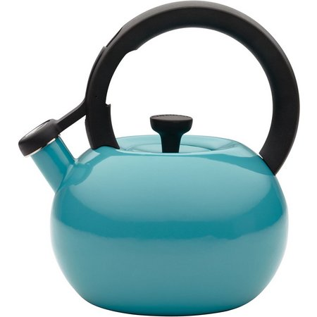 Circulon Circles Turquoise 2 qt. Tea Kettle