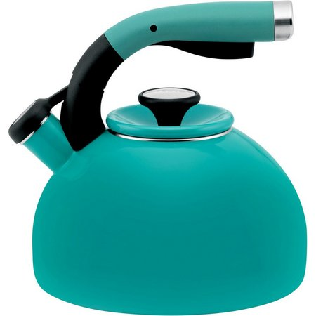 Circulon Morning Bird Turquoise 2 qt. Tea Kettle