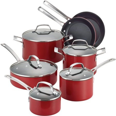 Circulon Genesis 12-pc. Aluminum Cookware Set