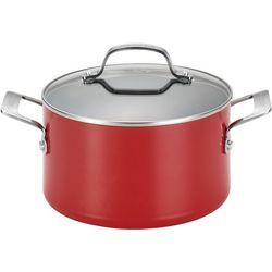 Circulon Genesis 4.5 qt. Red Covered Dutch Oven