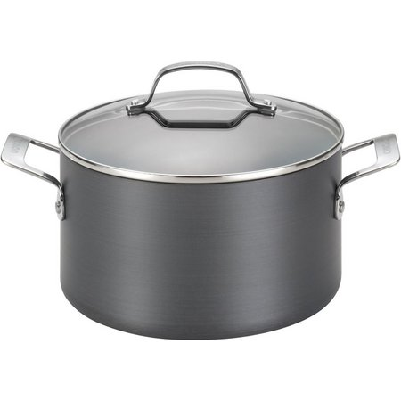 Circulon Genesis 4.5 qt. Black Covered Dutch Oven