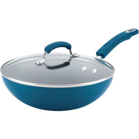 Rachael Ray 11'' Covered Nonstick Stir Fry Pan